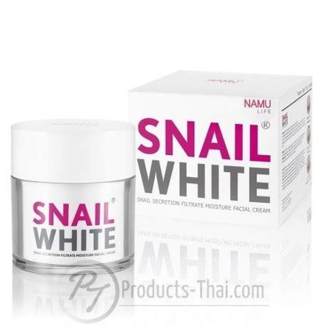 Snail White Thailand snail white thai skin care snail white namu
