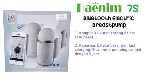 Haenim Tumbler Breastpump unboxing review haenim 7s electric breastpump