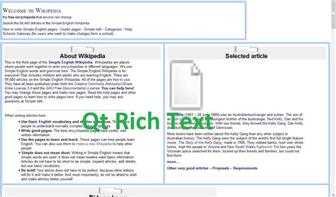 qt tutorial text editor richtext evernote windows like text editor using qt