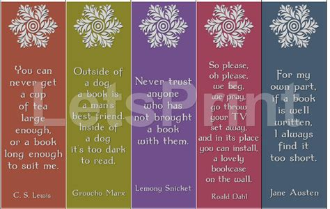 printable bookmarks with quotes from books books quotes printable bookmarks by letsprint etsy