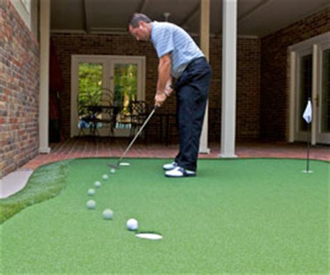 how to build a putting green in my backyard dave pelz greenmaker do it yourself putting green