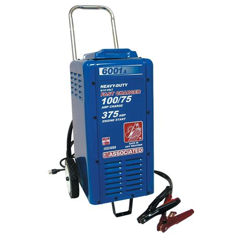 Associated 6001A Heavy Duty Commercial Charger   6   12