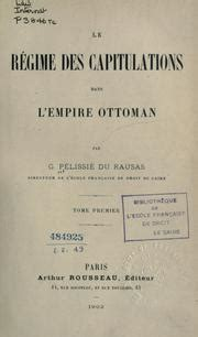 capitulations of the ottoman empire capitulations of the ottoman empire