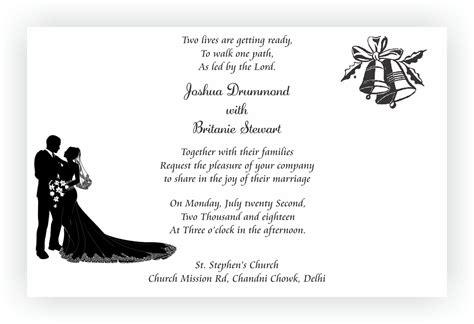 Christian Wedding Invitations by Christian Wedding Invitation Wordings Chococraft