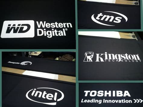 company logo table cover custom tablecloth with logo company to boost your booth