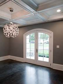 light walls ceiling floors gray walls white trim and the light