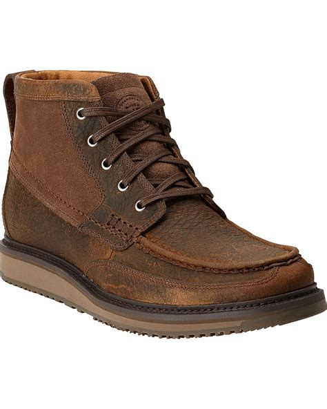 ariat s lookout chukka boots boot barn