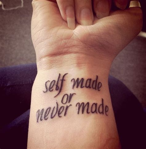 cute wrist tattoo sayings 30 sensational quotes creativefan