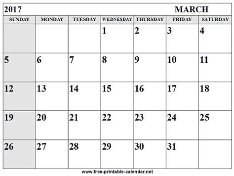 printable calendar 2017 you can edit march calendar 2017 monthly printable 2018 calendar