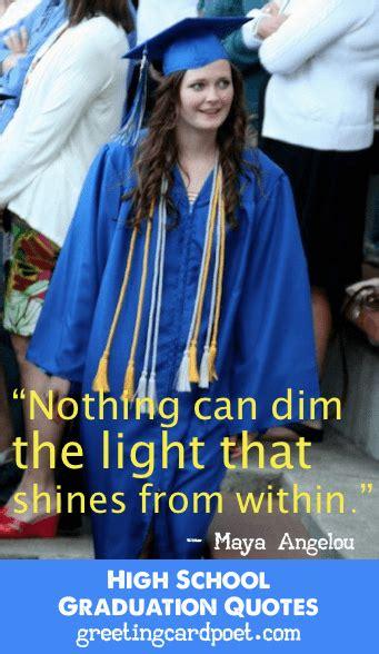 high school graduation quotes funny  inspirational