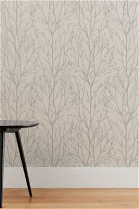 wallpaper grey twigs pussy willow laura ashley and floral wallpapers on pinterest
