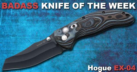 hogue ex 04 hogue ex 04 badass knife of the week knife depot