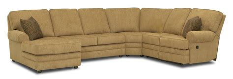 klaussner reclining sofa klaussner belleview reclining sectional with left side