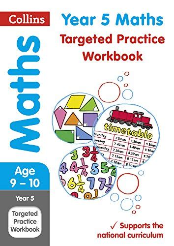 year 5 maths targeted practice workbook collins ks2 sats revision a new book ebay