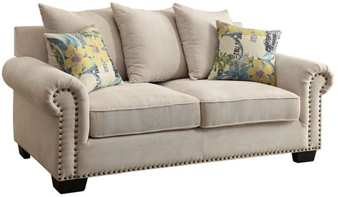 ivory loveseat skyler ivory loveseat from furniture of america coleman