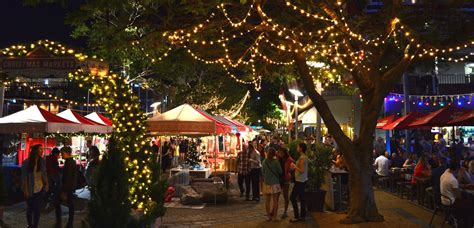 brisbane s best markets for christmas shopping style
