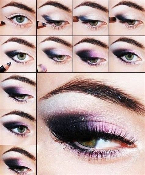 tutorial makeup eyes amazing collection of purple eye makeup tutorial be modish