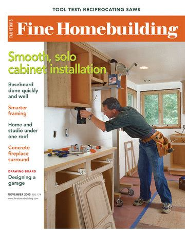 fine homebuilding 04 issue 174 fine homebuilding