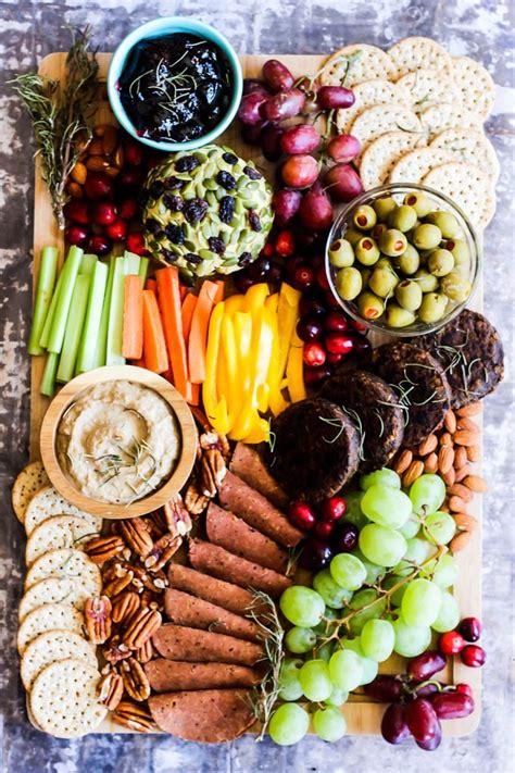 epic vegan charcuterie board emilie eats