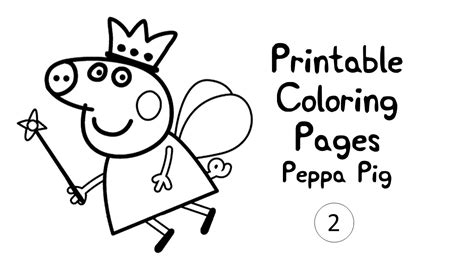 peppa pig princess coloring pages peppa pig printable coloring pages printable kids coloring