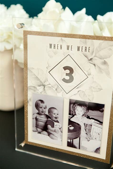 Crafty Home Decor Ideas Check Out These Darling Diy Table Numbers With Photos Of