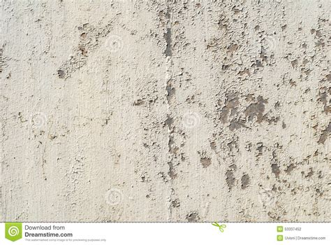 Chipped Paint On An Old Wooden Wall Texture Background Stock Photo   Image: 53337452