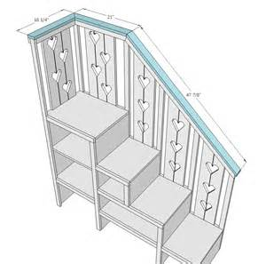 Toddler Bunk Bed Plans With Stairs Bunk Bed With Stairs Plans Free White Build A