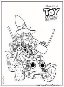 coloriages du film pixar walt disney toy story 2 woody buzz az dibujos colorear