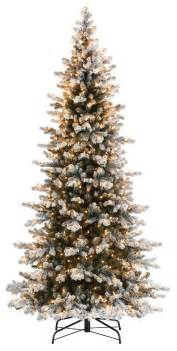 artificial trees with snow decoration ideas slim frosted artificial tree