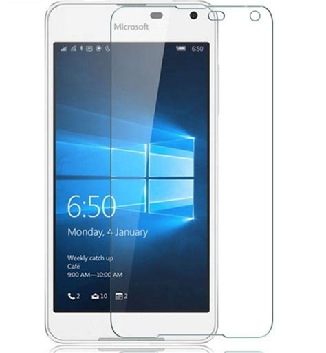 Nokia Microsoft Lumia 650 Screen Mirror Screen Protector nokia microsoft lumia 650 tempered glass screen protector