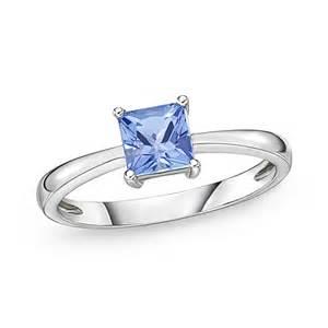 0 76 carat tanzanite princess cut solitaire ring