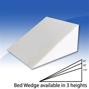 bed wedge custom comfort pillow bedinabox