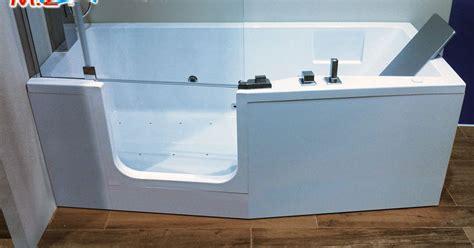 chiusura vasca da bagno vasca con sportello ad apertura laterale con chiusura a