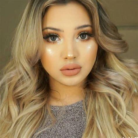 makeup glowy glowy makeup look by yess sunshine snupps