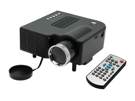 Mini Projector Uc28 black uc28 pro hdmi portable mini led projector home