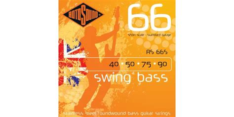 rotosound swing bass 66 rotosound rs66s swing bass 66 scale 40 90 guitar