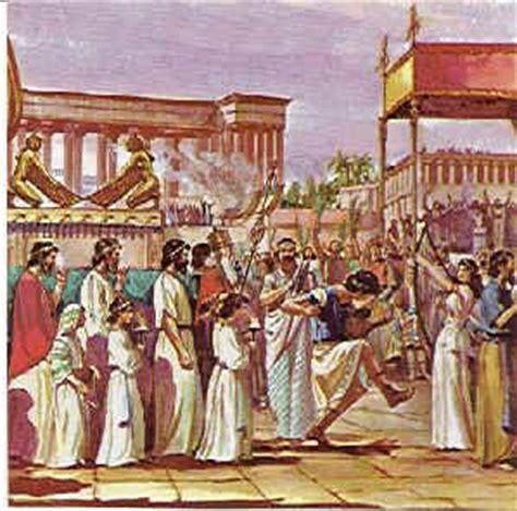 Tenda Cing Rei as the ark of the lord was entering the city of david