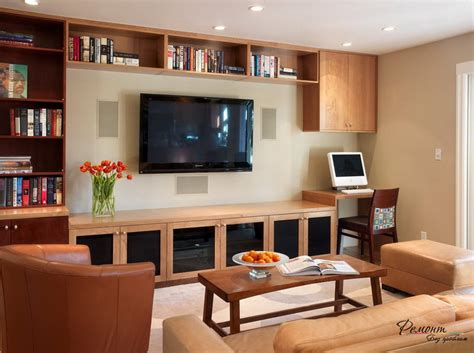 livingroom pc living room ideas living room computer desk rectangle brown varnished wooden table with