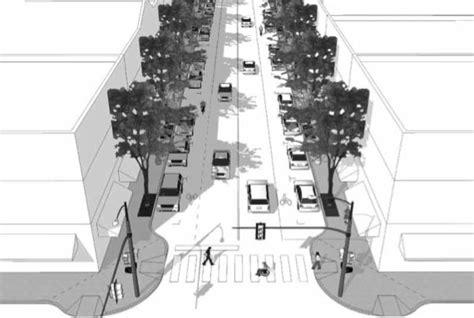 Geometric Design Criteria For Urban Streets | congress for the new urbanism streetsblog new york city