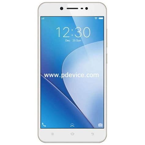 Smartphone Vivo V5 Lite by Vivo V5 Lite Specifications Price Features Review