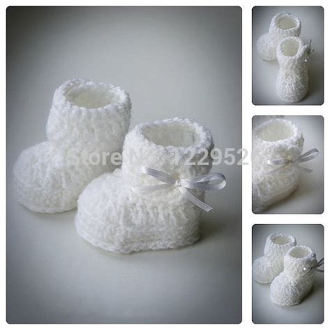 baby booties for a baby girl zapatitos para una bebe white crochet baby booties white bow crochet shoes baby