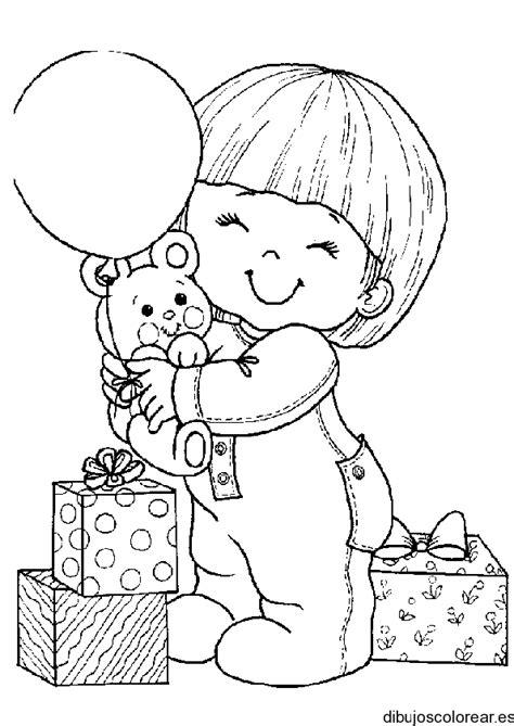 reborn baby coloring page dibujo de un beb 233 con un globo