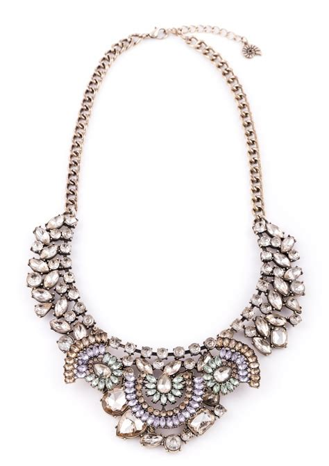 vintage treasure statement necklace happiness boutique