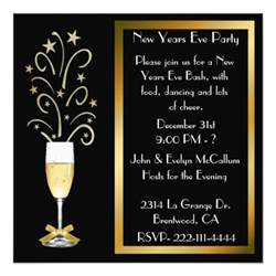 new years invitations 5 25 quot square invitation card zazzle