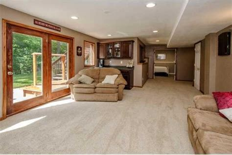 finished walkout basement 17 best images about finished basement on patio basement ideas and basement bars