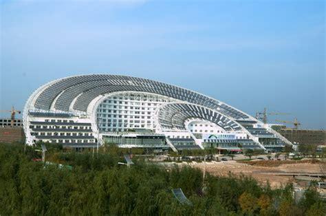 iconic design adalah largest solar energy building chinese quot sun dial quot sets