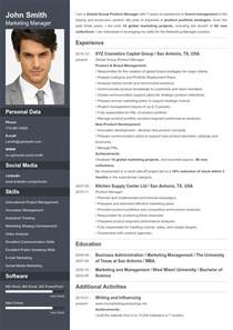 Resume With Photo Template by Resume Builder Your Resume Ready In 5 Minutes