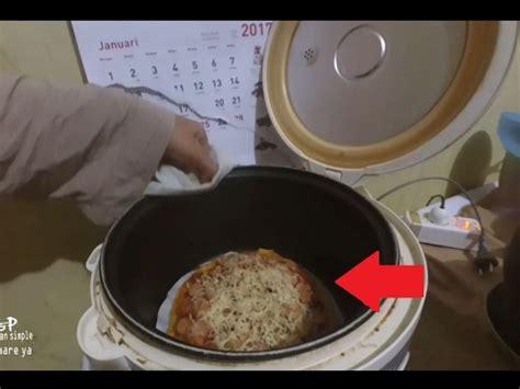 cara membuat pizza simple tanpa oven resep cara membuat pizza tanpa oven dengan rice cooker