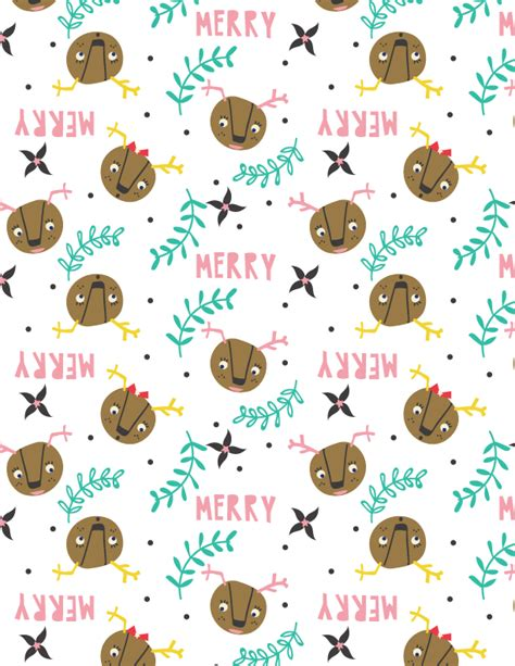 Denydesigns free printable gift wrap tammie bennett art design