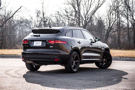 all black jaguar 2018 jaguar f pace 20d review canadian auto review